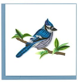 Quilling Card Blue Jay