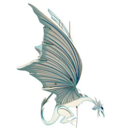 Tulia's Artisan Gallery Ice Dragon Mobile