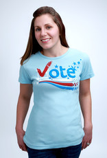 Green 3 Apparel Vote SS Tee