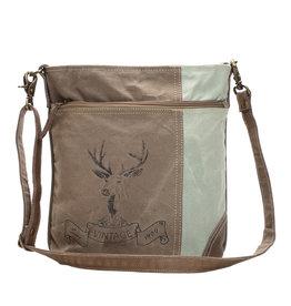 Reindeer Print Shoulder Bag