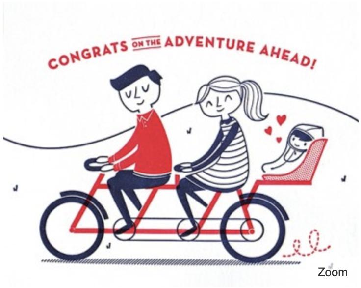 Baby Bicycle Congrats