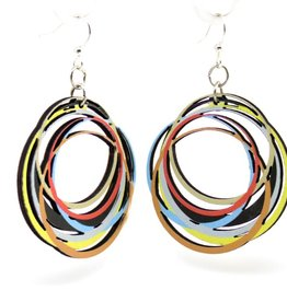 Circle Array Earrings