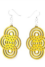 Overlapping Circle Earrings