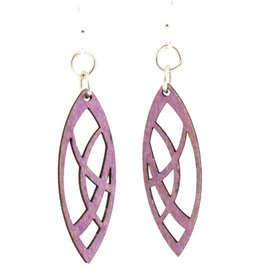 Pointed Oval Blossom Earrings