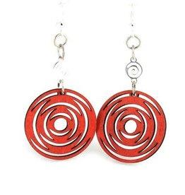 ICircled Dangle Earrings