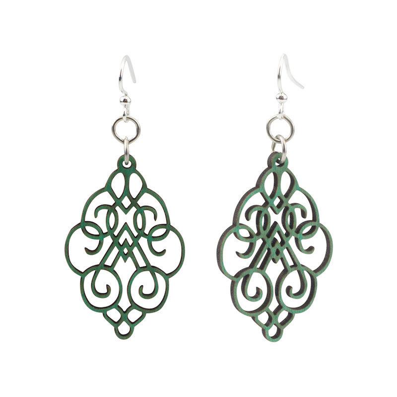Arabesque Scroll Earrings