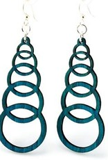 Ascending Circle Earrings