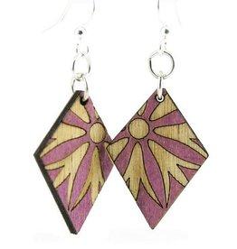 Diamond Blossom Earrings