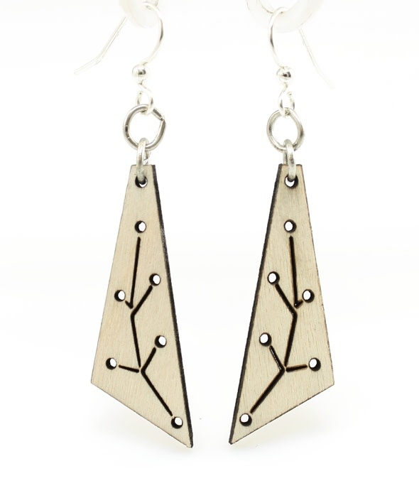New Growth Triangle Earrings