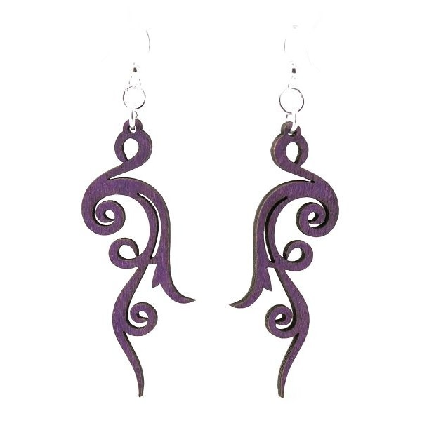 Small Scroll Earrings