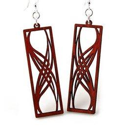 Rectangular Elegance Earrings