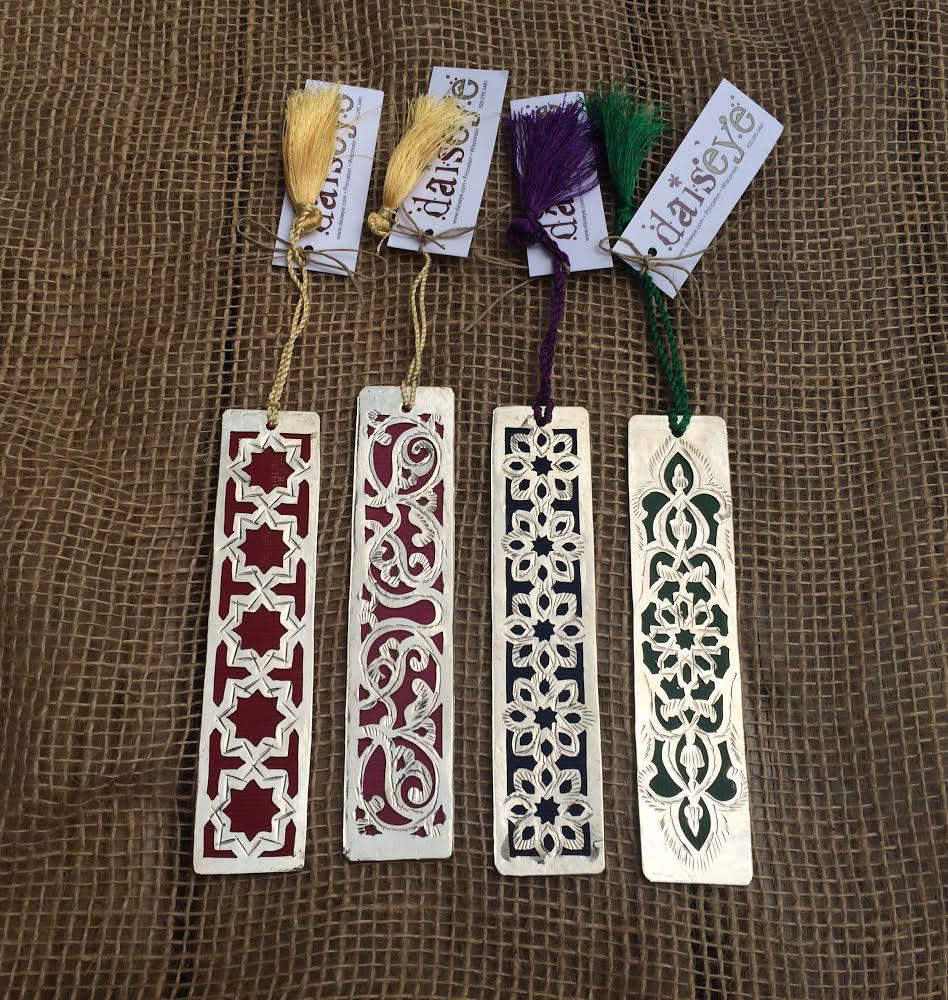 White Copper Bookmark
