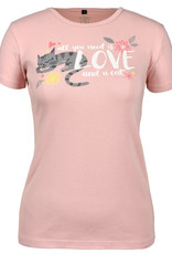 Love and a Cat SS Tee