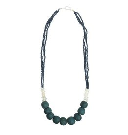 Abacus Necklace Teal