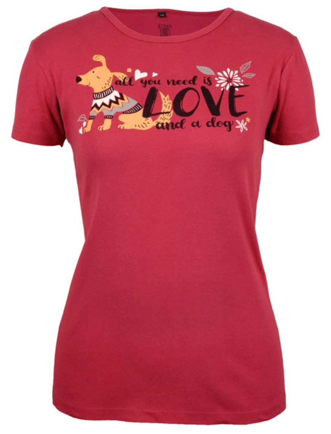 Love and a Dog SS Tee