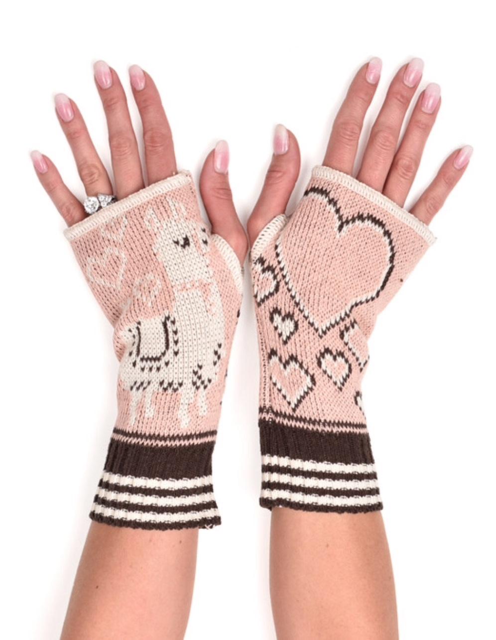 Llama Handwarmers