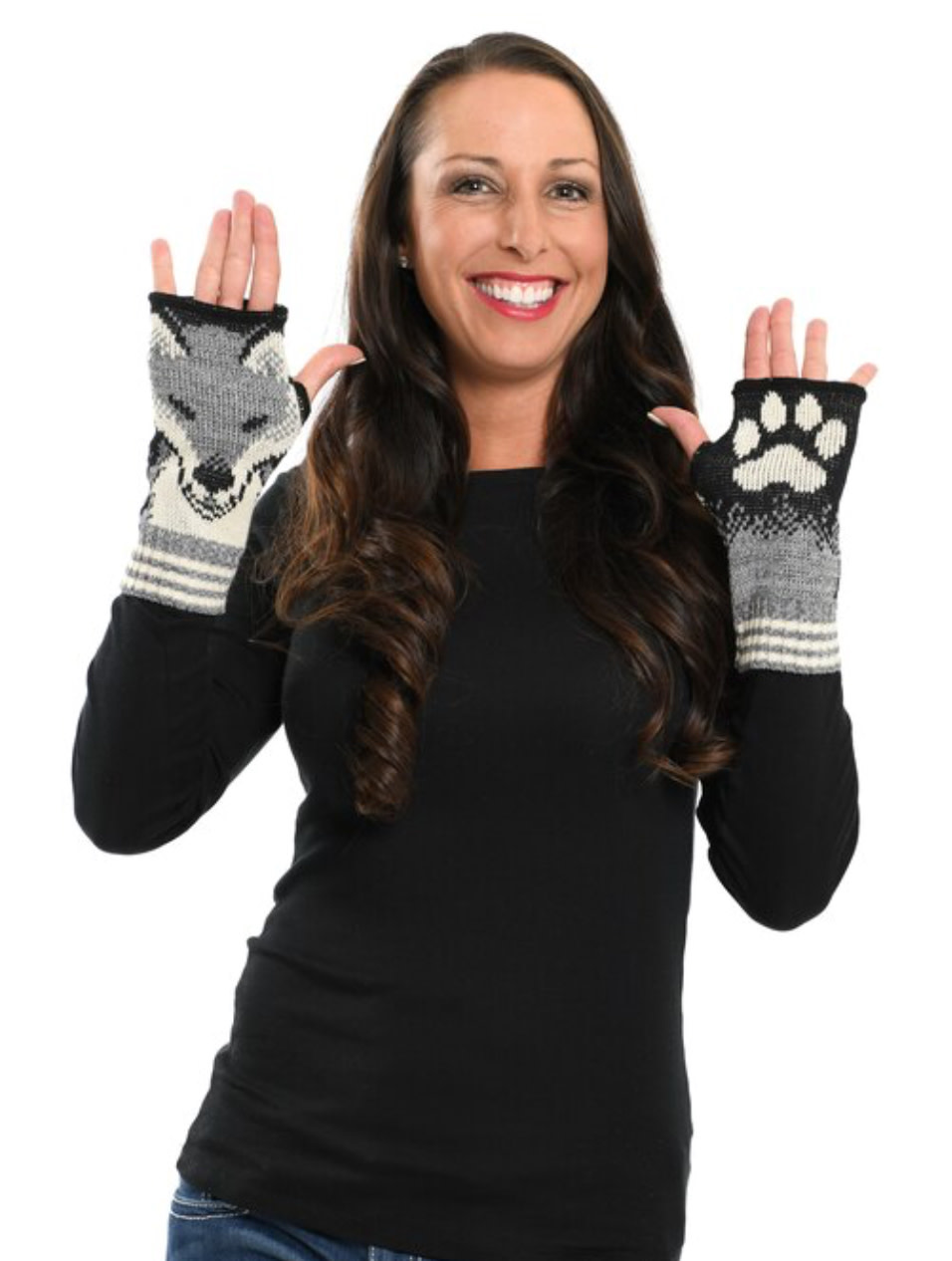 Grey Fox Handwarmers