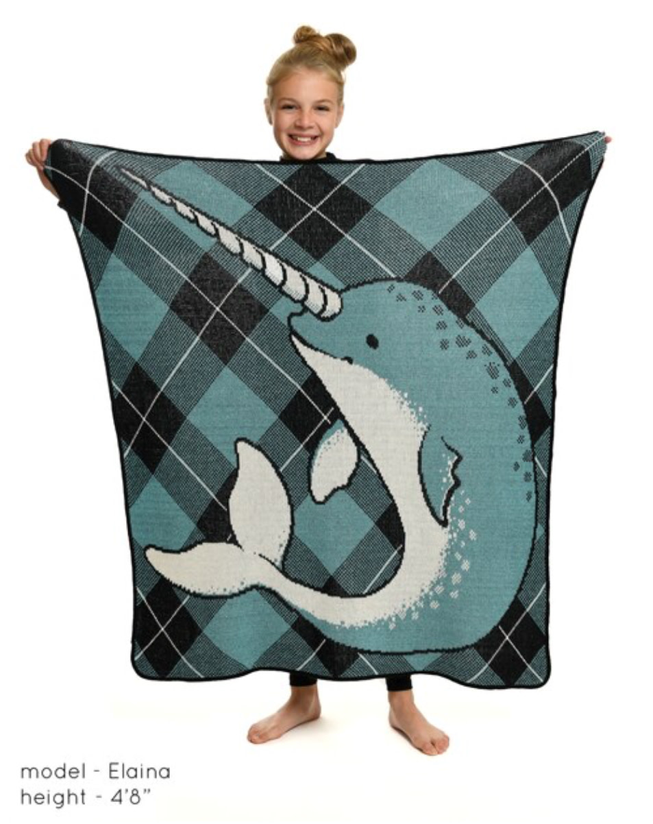 Narwhal Jr. Throw