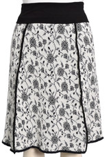 Floral Vines 4-Panel Skirt