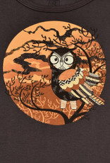 Autumn Owl LS Tee