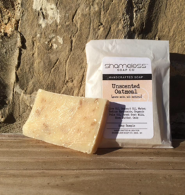 Shameless Soap Co Unscented Oatmeal Sample Soap