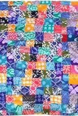 Global Mamas TS Batik Patchwork Blanket