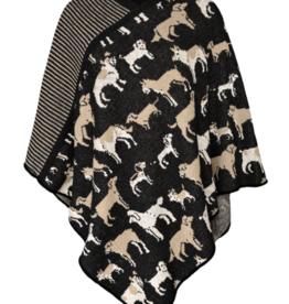 Knit Dog Poncho