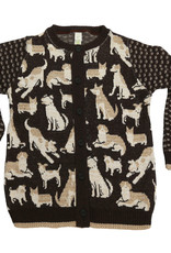 Multi Dog Cardigan