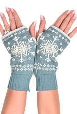 Snowflake Handwarmers Teal
