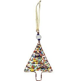 TS Beaded Ornaments Tree Rainbow