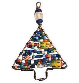TS Beaded Ornaments Mini Tree Rainbow