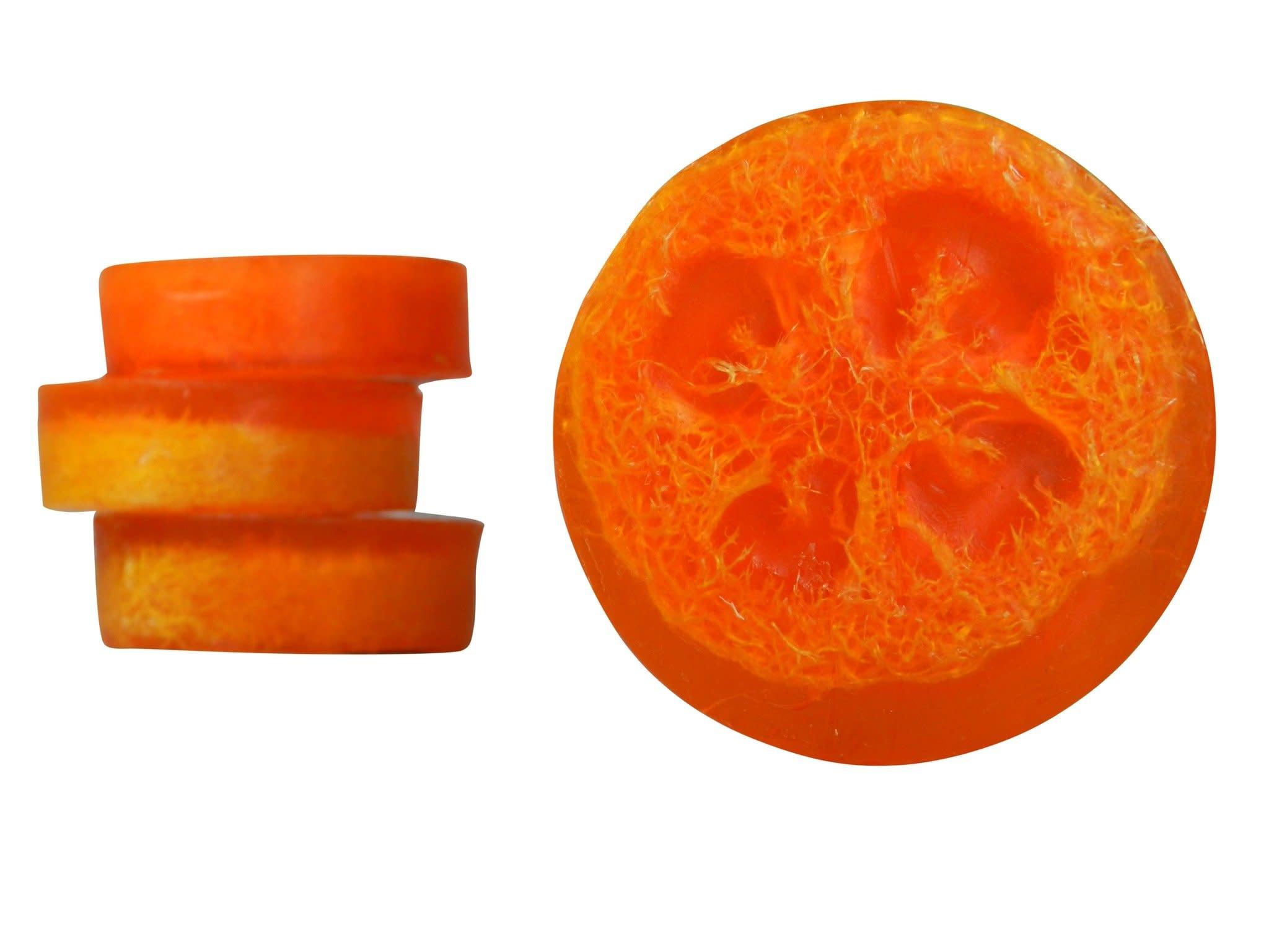 Shameless Soap Co Spiced Citrus Luffa