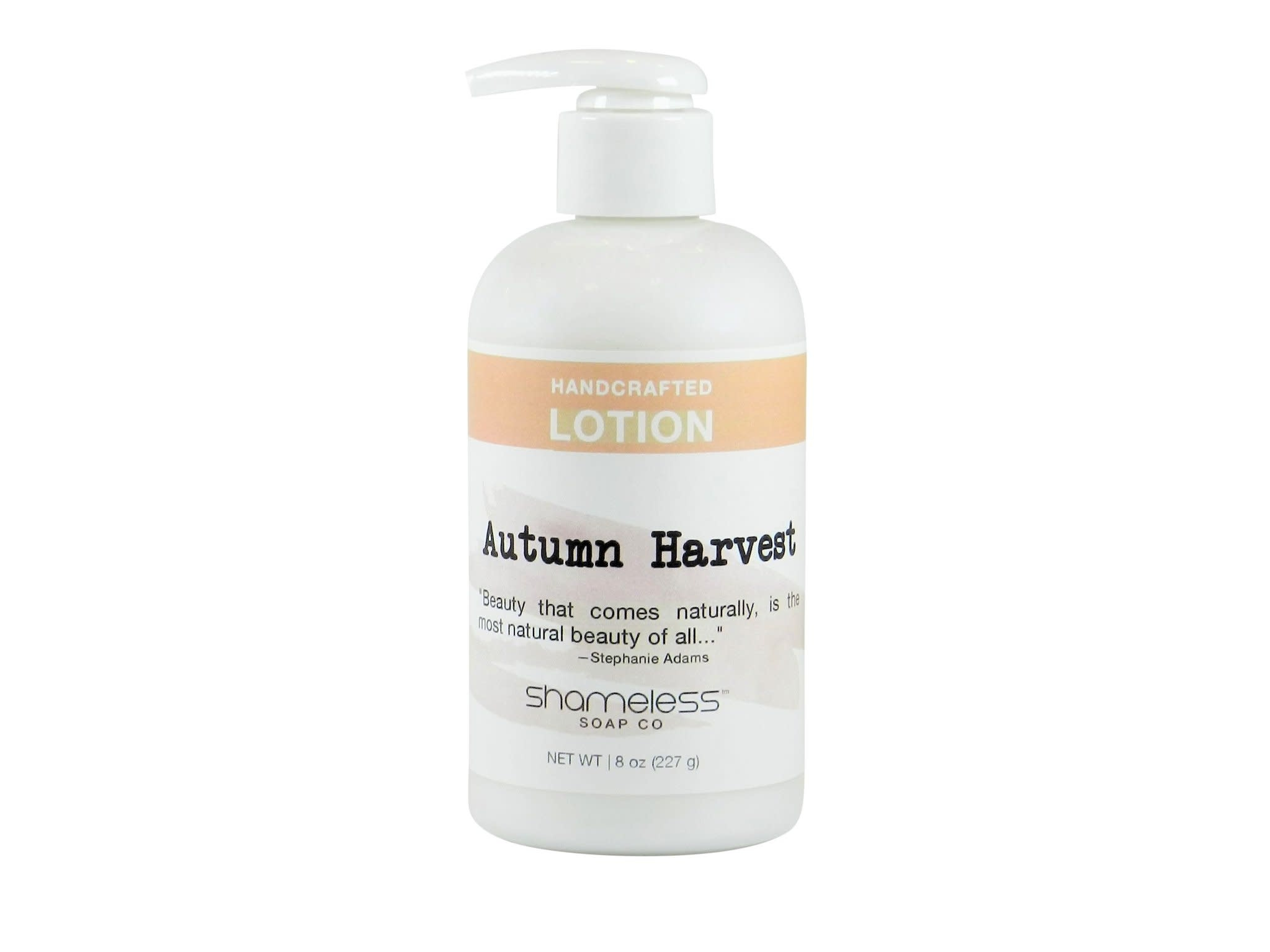 Shameless Soap Co Autumn Harvest Lotion