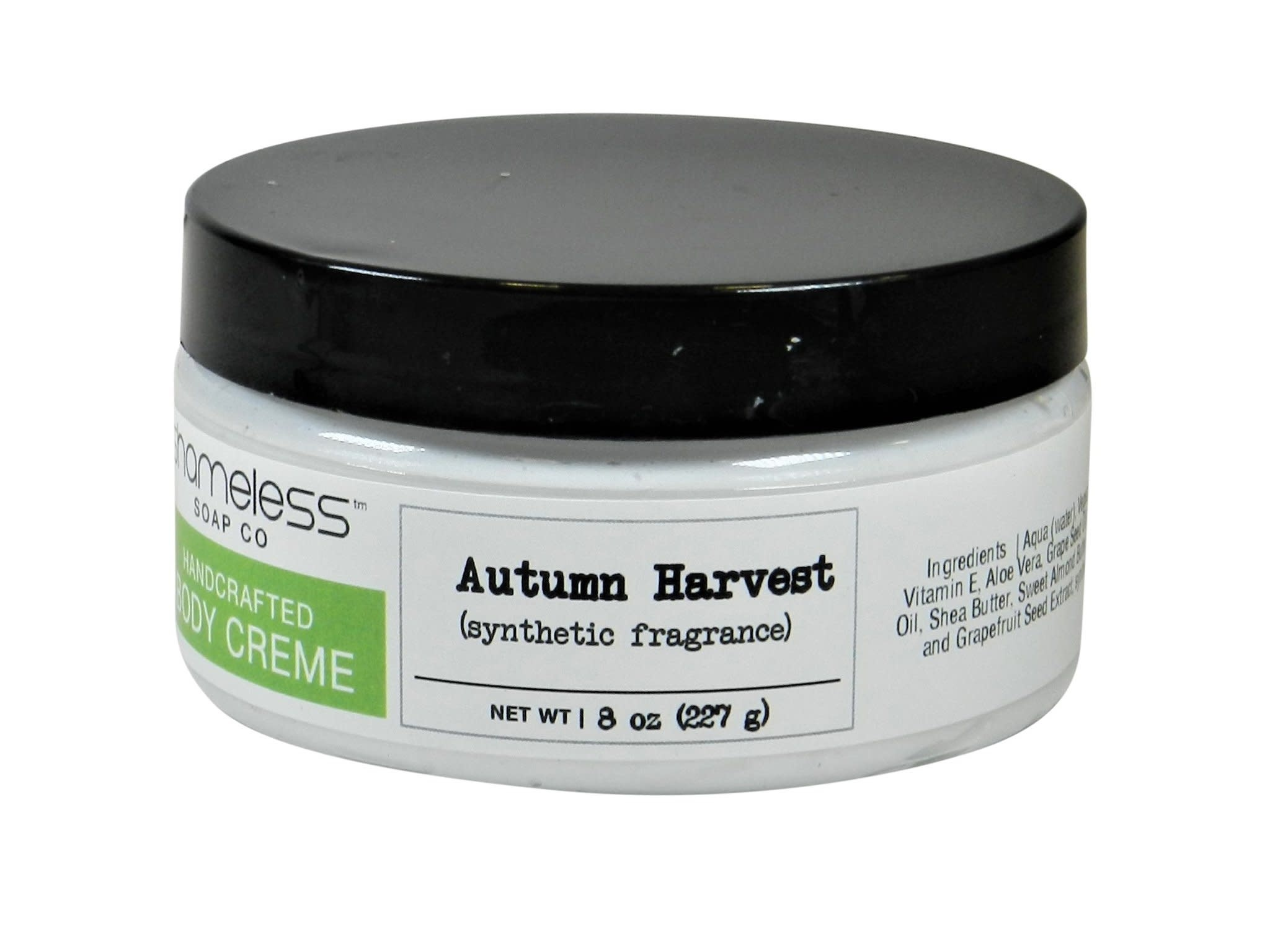 Shameless Soap Co Autumn Harvest Body Creme