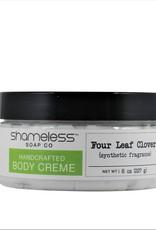 Shameless Soap Co Four Leaf Clover Body Creme