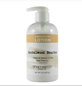 Shameless Soap Co Sandalwood Bourbon Lotion