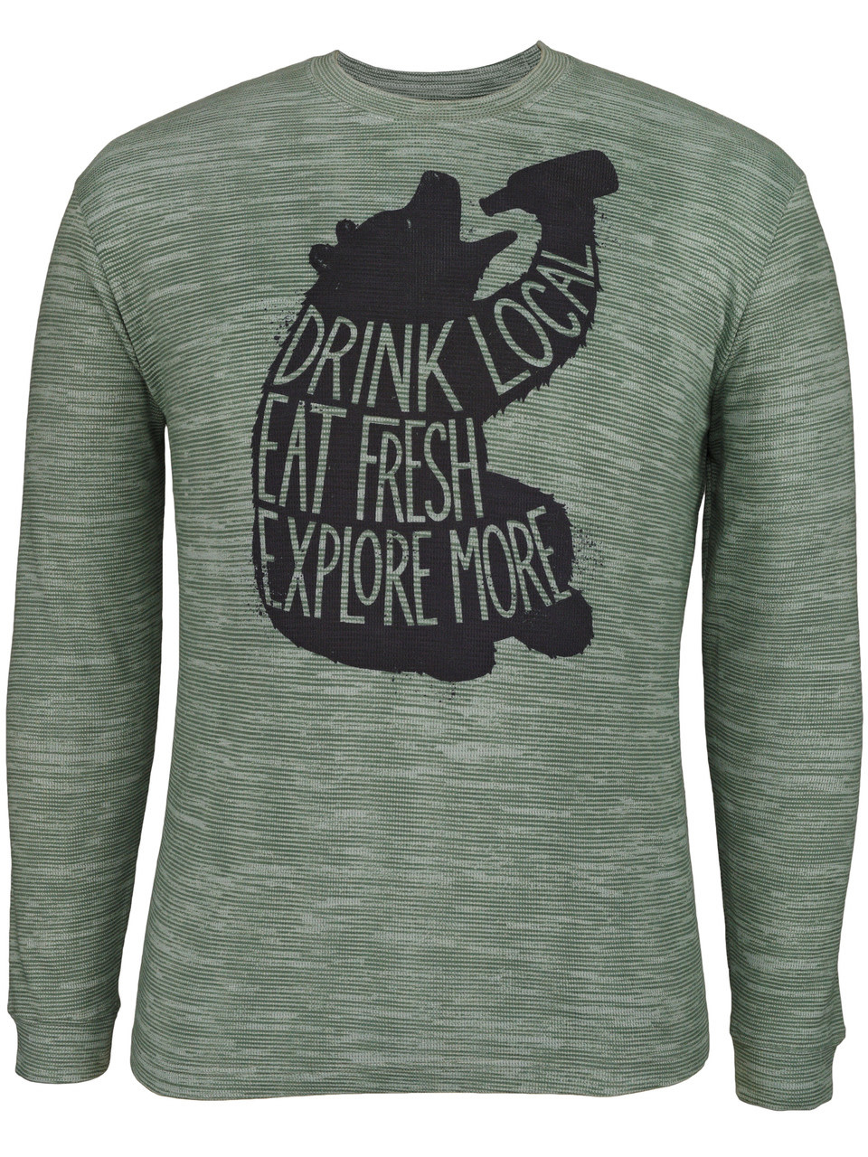 Drink Local Bear LS Thermal Crew