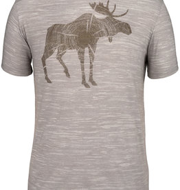 Log Moose SS Tee
