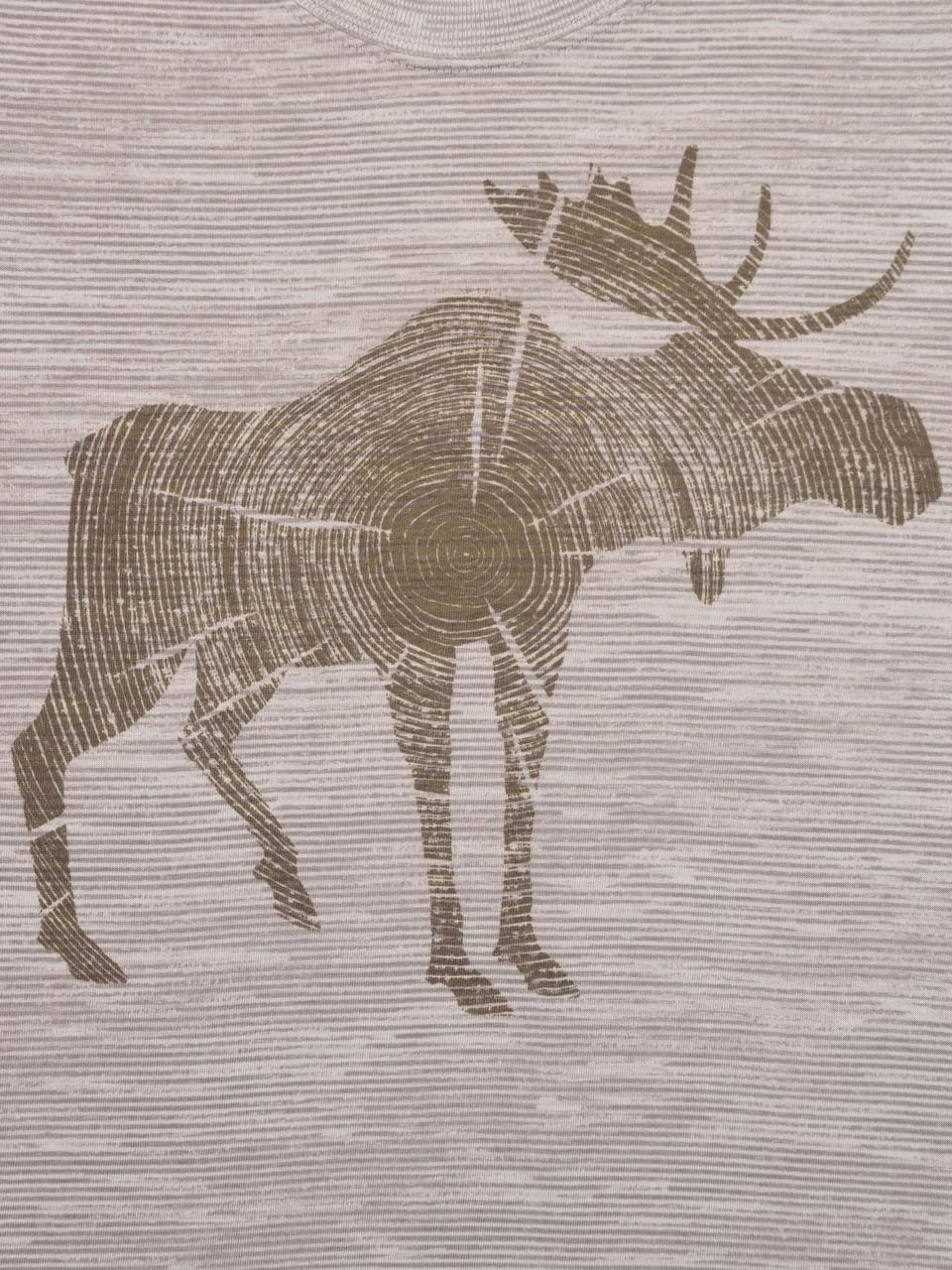 Log Moose SS Tee