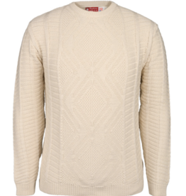 Diamond Fisherman Pullover
