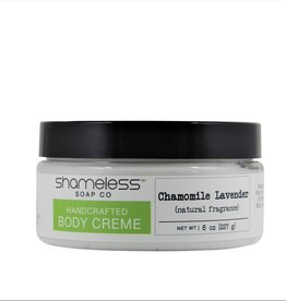 Shameless Soap Co Chamomile & Lavender Body Creme