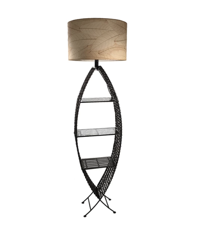 Outdoor/Indoor Fish Shelf Giant Cocoa Lamp