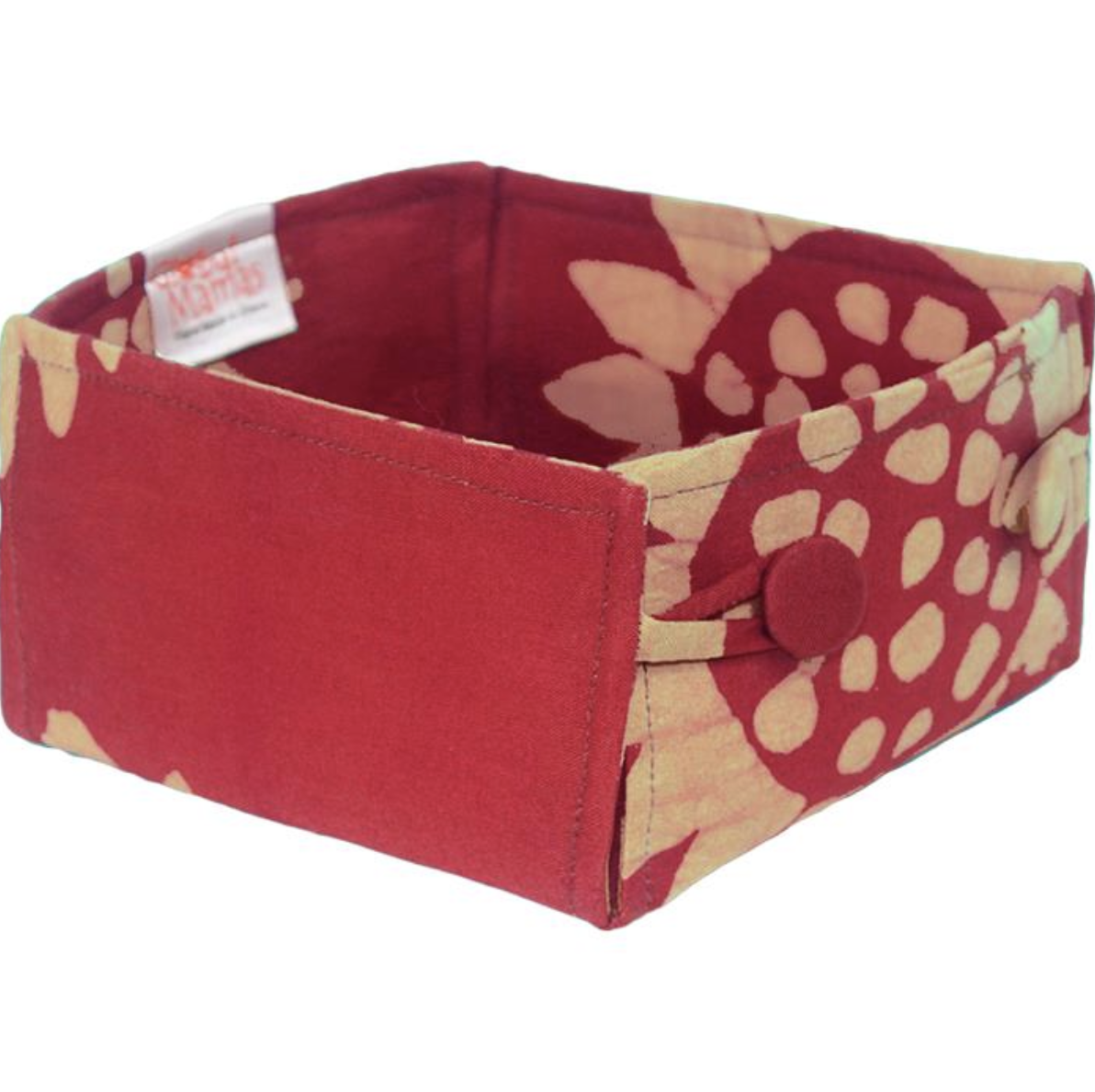 Global Mamas TS Organic Button Basket
