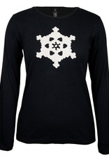 Green 3 Apparel Snowflake Applique