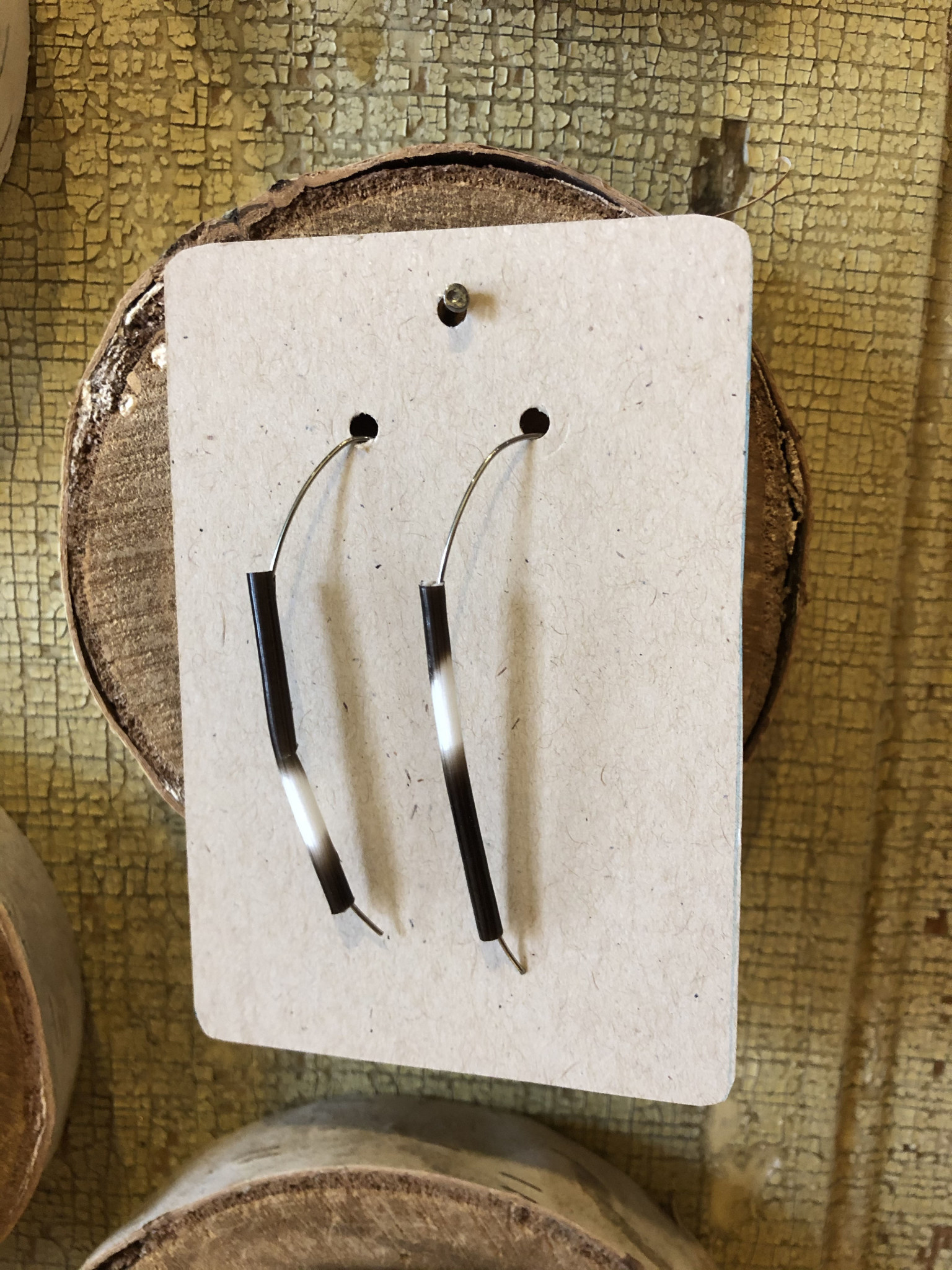 Arch Quill Earrings