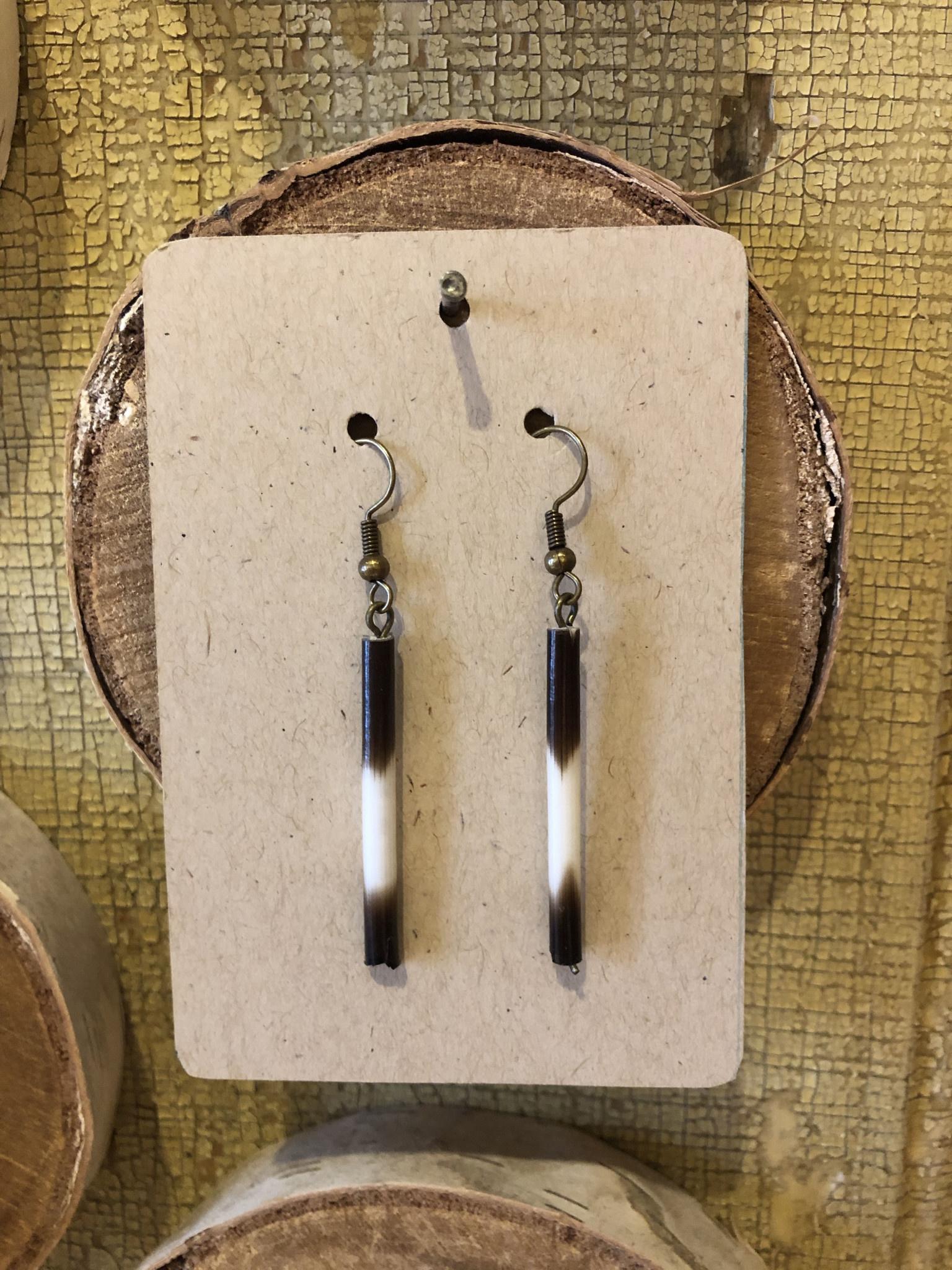 Quill Dangle Earrings