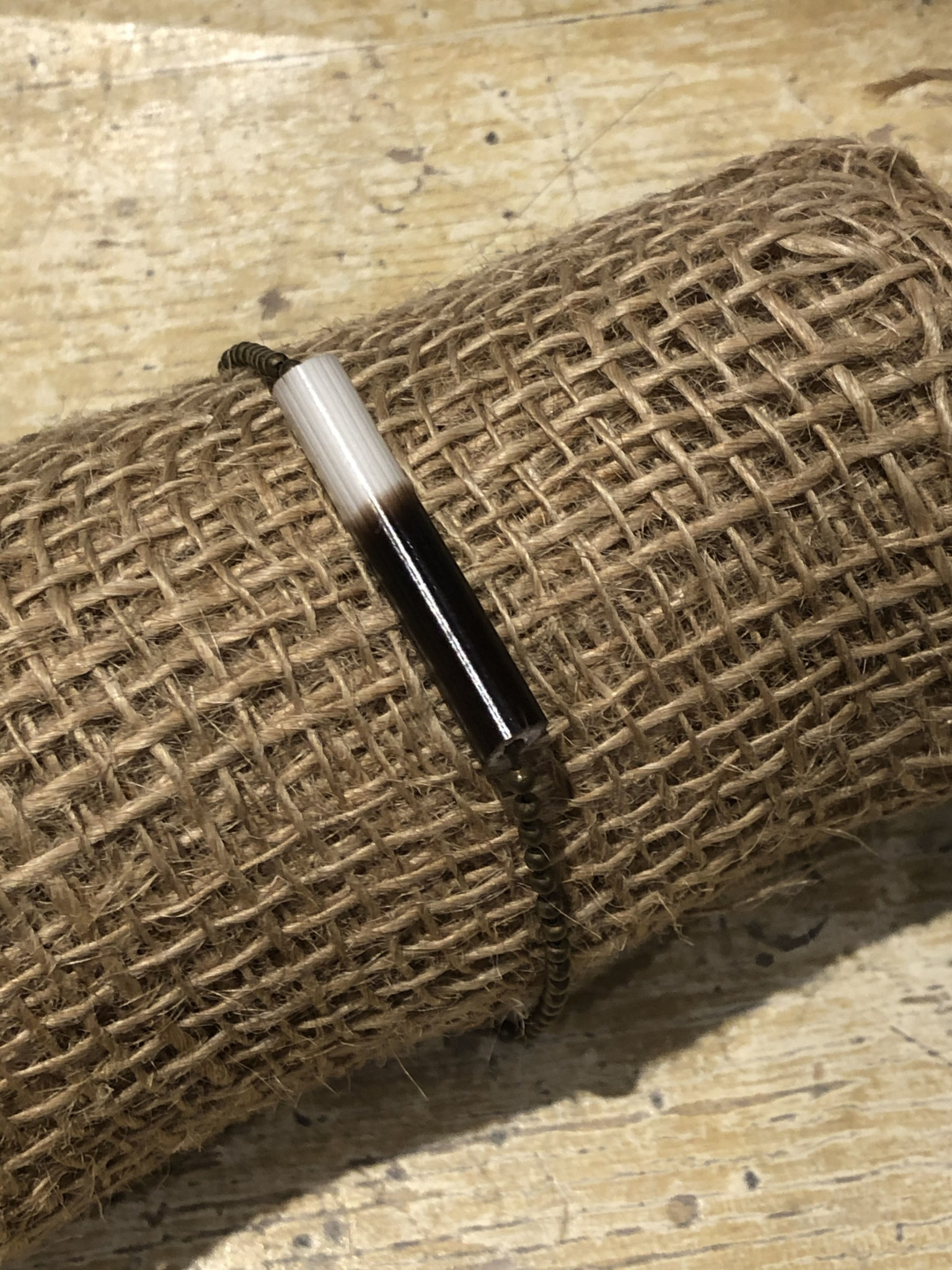 Ball Chain Quill Bracelet