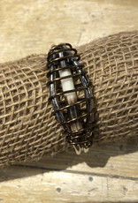 Wire Wrap Quill Cuff