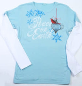 Peace on Earth LS Tee