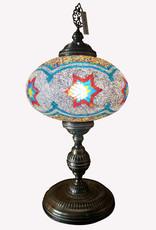 "14"" Mosaic Table Lamp"